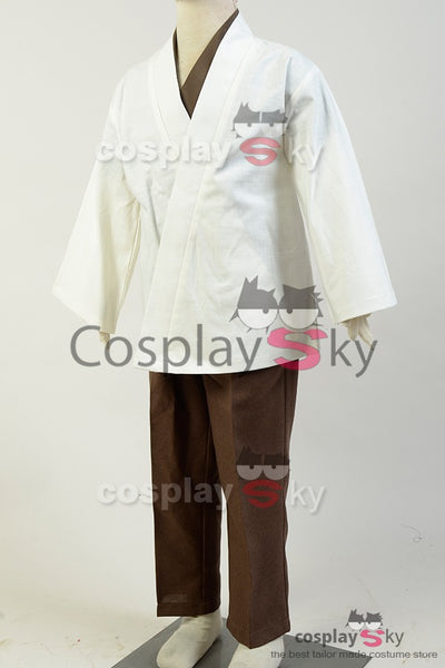Star Wars Kenobi Jedi Cosplay Costume Version D'enfant