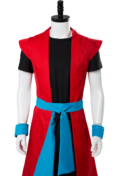 Super Dragon Ball Heroes: Universe Mission Son Goku Super Saiyan 4 Cosplay Costume