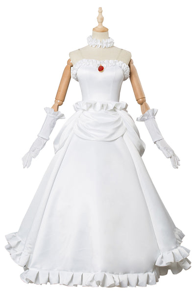 Super Mario PrIcesse Boosette Robe Cosplay Costume