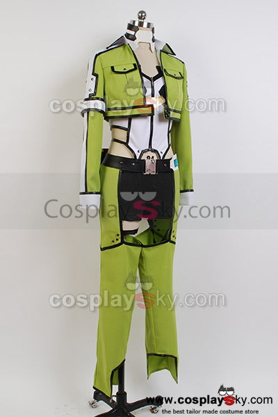Sword Art Online Gun Gale Online Sinon Asada Shino Cosplay Costume