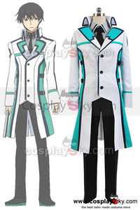 The Irregular at Magic High School Tatsuya Shiba Mahesvara Cosplay Costume