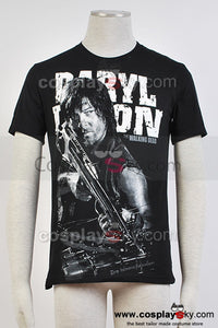 The Walking Dead Daryl Dixon T-Shirt Cosplay Costume