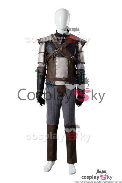 The Witcher 3 Wild Hunt Geralt de Riv Cosplay Costume