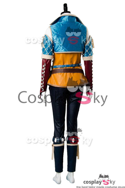 The Witcher 3 Wild Hunt Triss Cosplay Costume