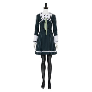 Toji no Miko The Shrine Maiden Heijou Institute Uniforme Scolaire Cosplay Costume
