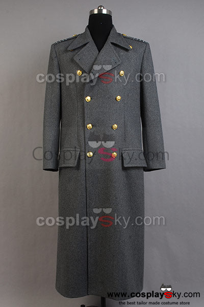 Torchwood Captain Jack Harkness Manteau Cosplay Costume Version Grise