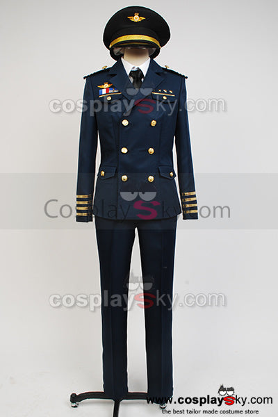 Uta no Prince-sama Shining Airlines Commander Uniforme Cosplay Costume