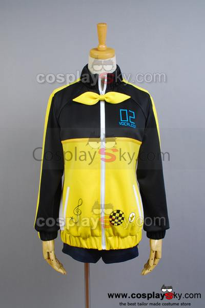 Vocaloid Len Project DIVA-F  Cosplay Costume Version B