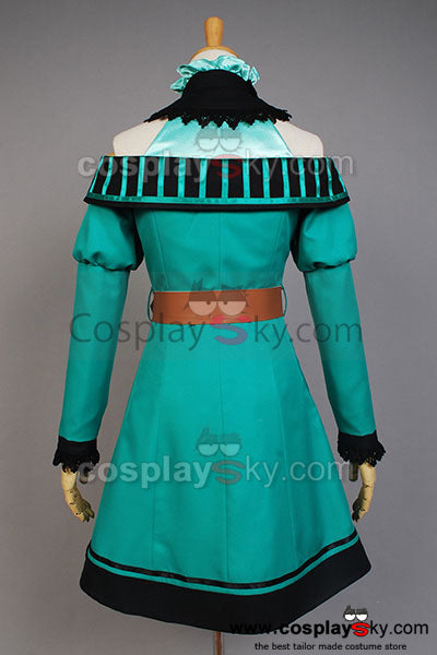 Vocaloid Project DIVA-F 2 Miku Cosplay Costume