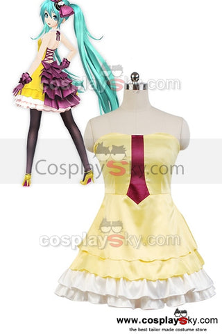 Vocaloid Project DIVA-F 2 Miku Costume Cosplay