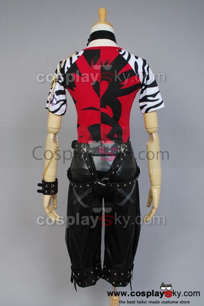 Vocaloid Project DIVA-f LEN Cosplay Costume
