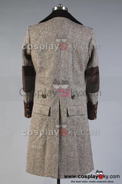 Doctor Who Manteau Long Version de Cachemire Cosplay Costume