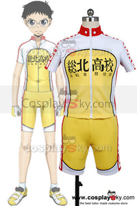 En selle, Sakamichi Maillot de Bicyclette Cosplay Costume