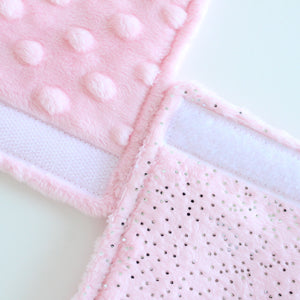 pink sparkles [Car Seat Comfy Cozies]