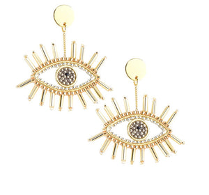 Mishky - Golden Eye earrings