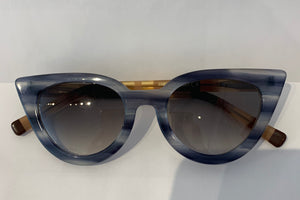 Lamù Sunglasses - Gatto Blue Stripes