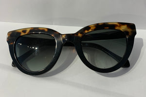 Lamù Sunglasses - Cat Pen black and dark tortoise
