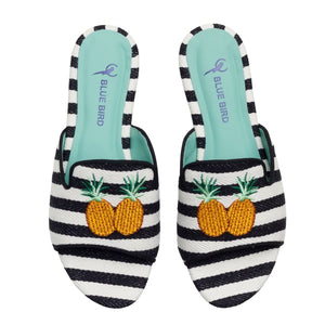 Blue Bird - Pineapple Shower Flats