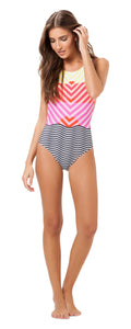 Salinas Happy Stripes One piece