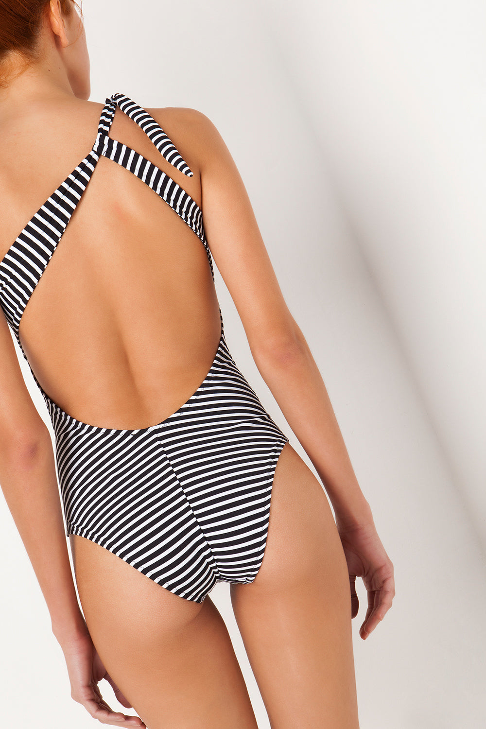 Stefania Frangista - Jennifer Black & White Stripes