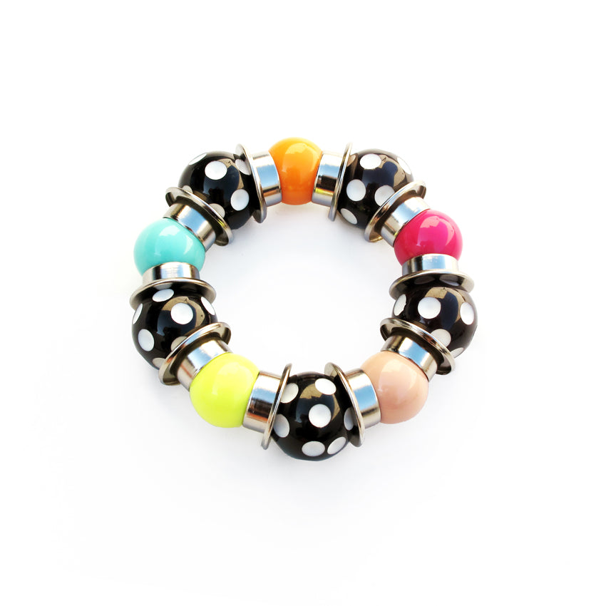 Claudia Savelli - Multicolor Dotted Bracelet