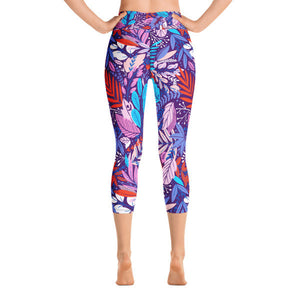 Brynn High Waist Capri Leggings