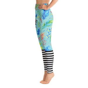 Florablanca Leggings