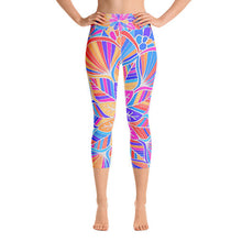 Load image into Gallery viewer, Festival Vibe Capri Leggings