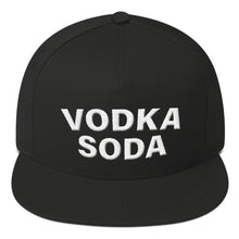 Load image into Gallery viewer, Vodka Soda Flat Bill Cap