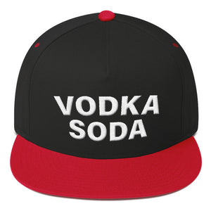 Vodka Soda Flat Bill Cap