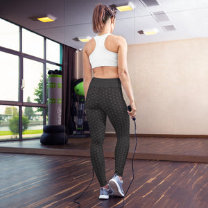 Flower Of Life Leggings | Jeva Lab