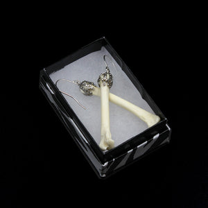 Earrings | Mammal Bones | Silver | Large