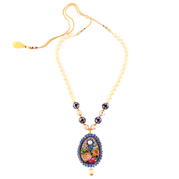 OyeTrend Designer Floral Pendant Set For Women