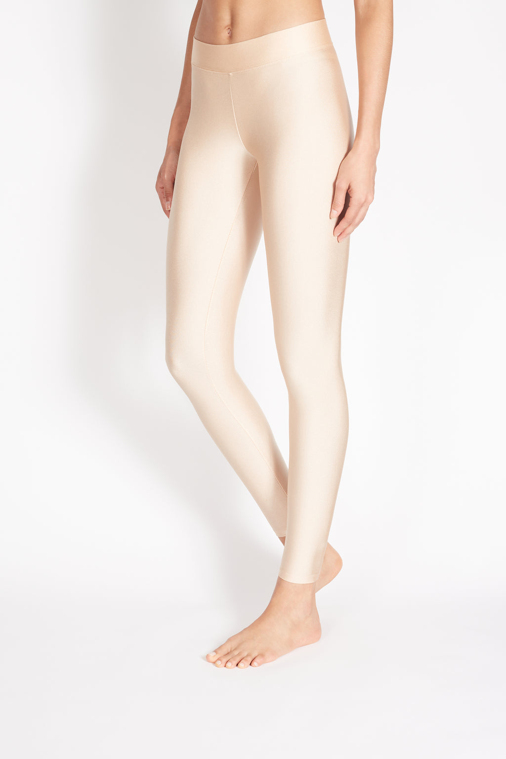 "PITA HIGH RISE BASIC LEGGING ""METALIC"""