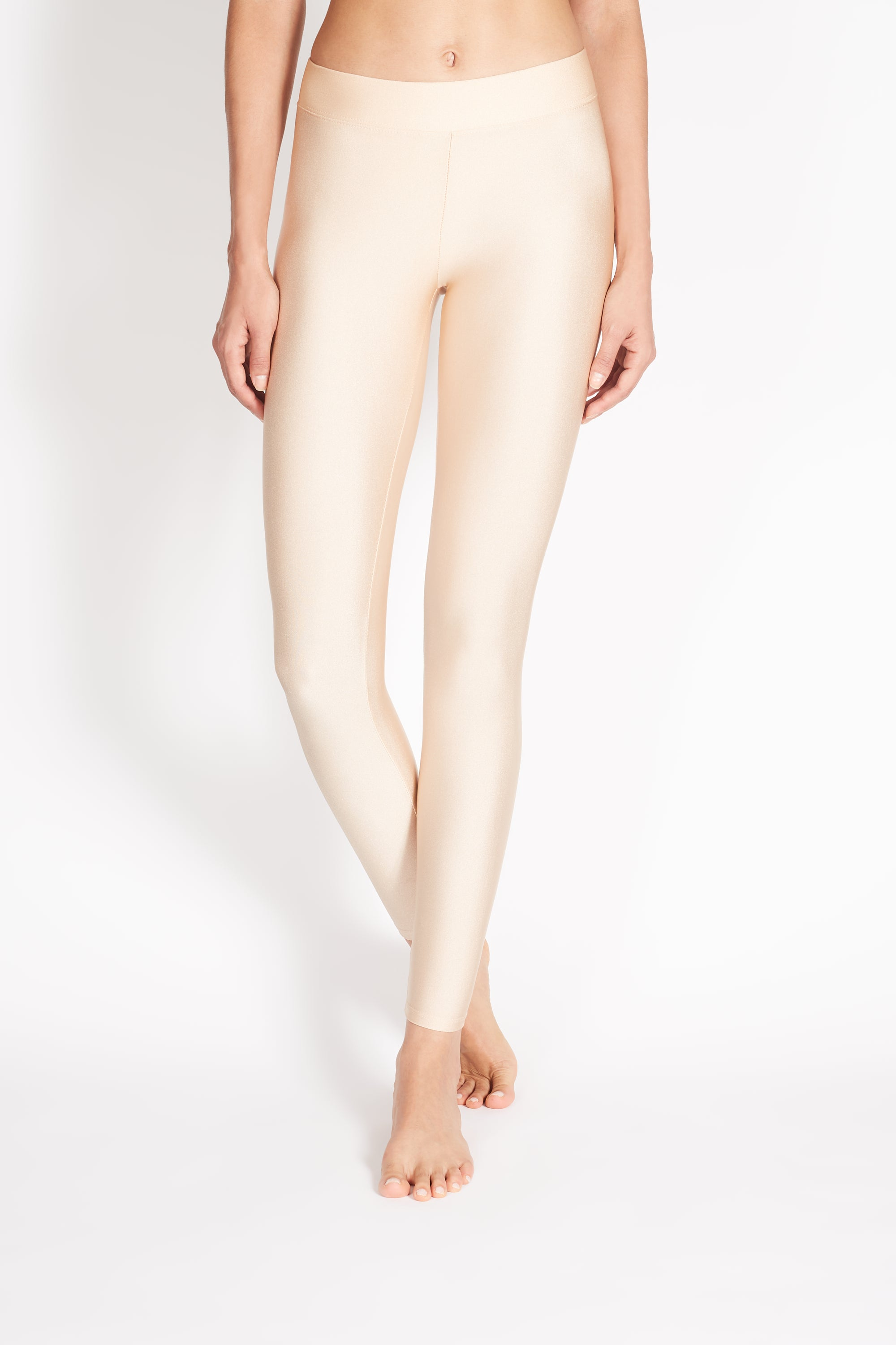 "PITA HIGH RISE BASIC LEGGING ""METALLIC"""