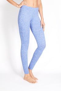 "PITA HIGH RISE BASIC LEGGING ""HEATHER"""