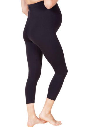 ABBY CROPPED HIGH WAIST BASIC MATERNITY LEGGING