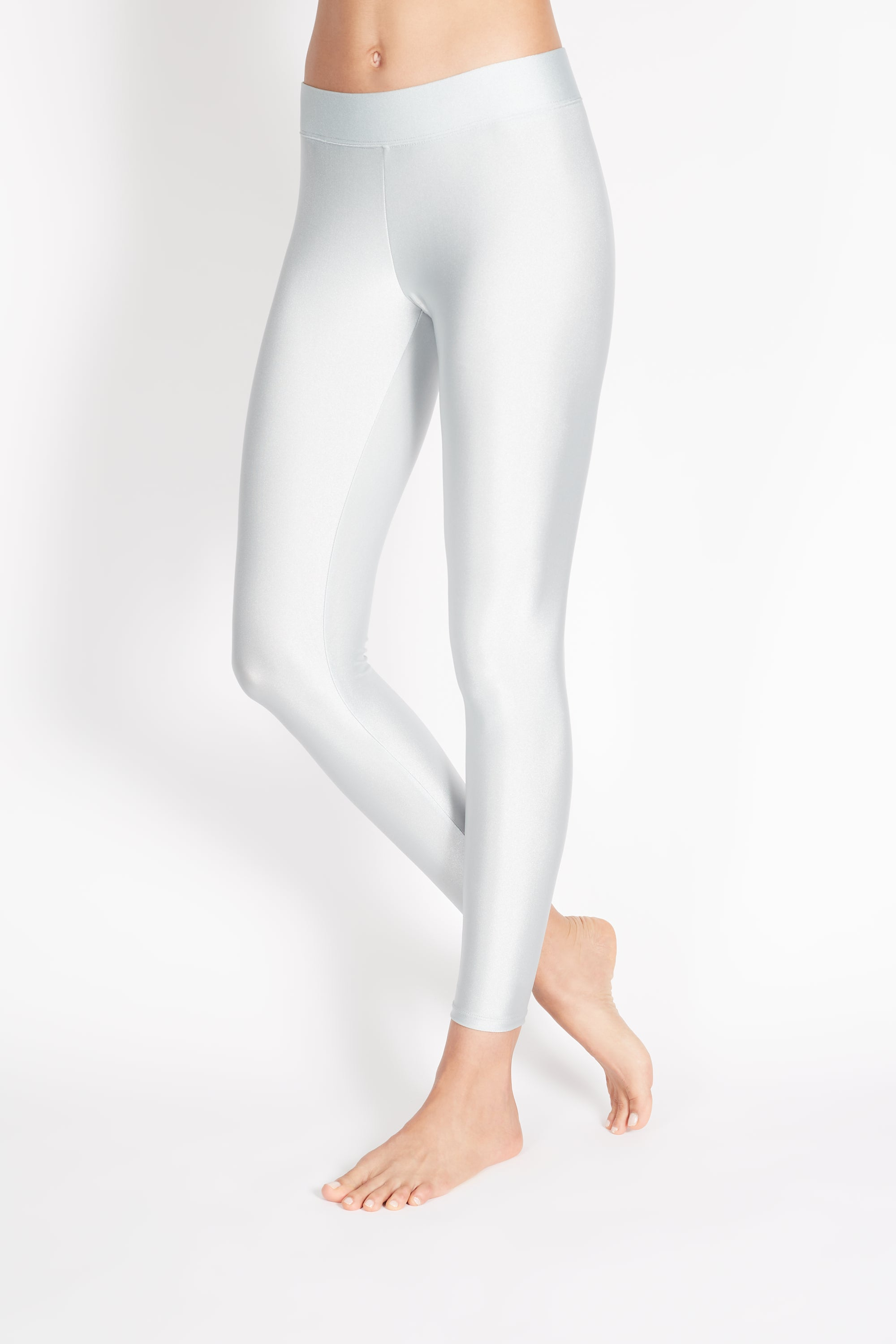 "PITA HIGH RISE BASIC LEGGING ""PLATINUM GREY"""