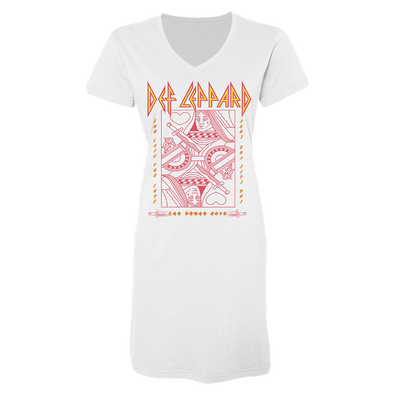 Def Leppard Women's Too Late Vegas Cover Up