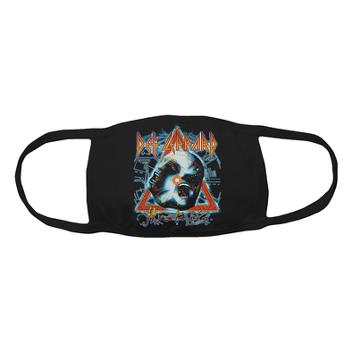 Def Leppard Hysteria Face Mask