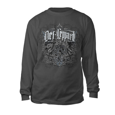 Eagle Crest Long Sleeve Tee-Def Leppard
