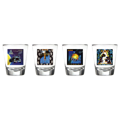Album Art Four Piece Shot Glass Set-Def Leppard