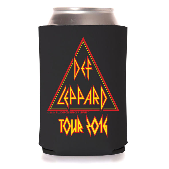Triangle Logo Tour Coozie-Def Leppard