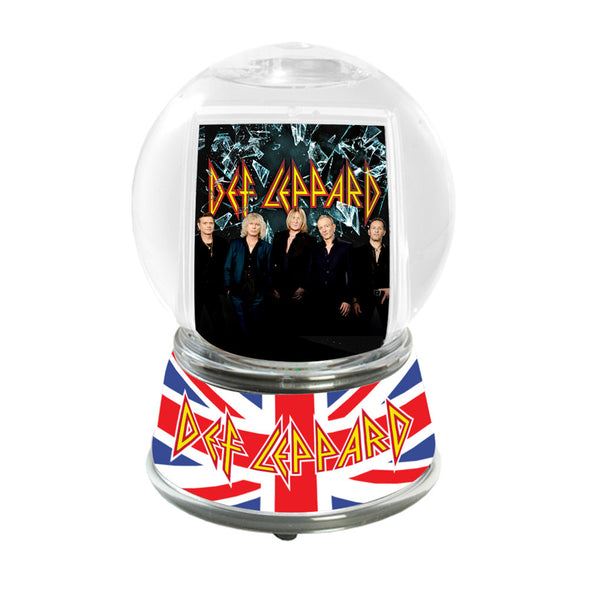 Band Photo Snow Globe-Def Leppard