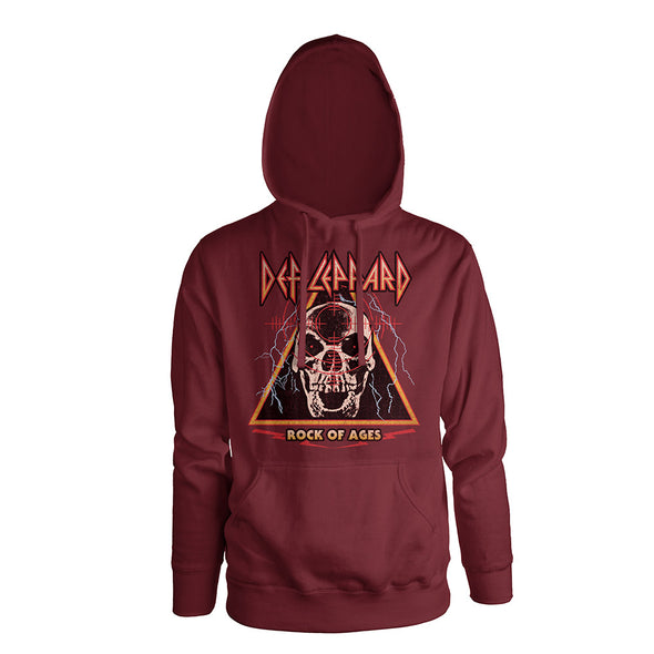 Rock Of Ages Pullover Hoodie-Def Leppard