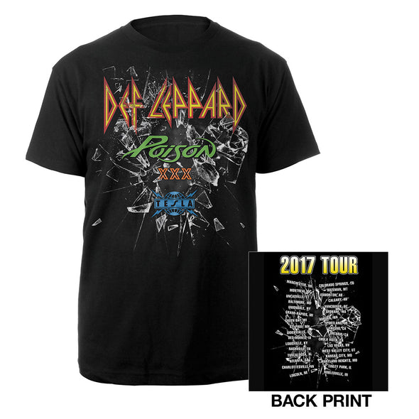 North American Tour Tee-Def Leppard