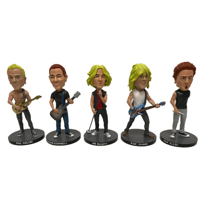 Caricature Bobble Head Set-Def Leppard