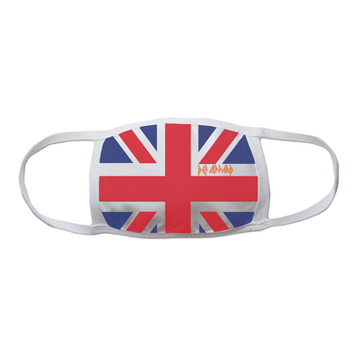 Def Leppard Union Jack Face Mask