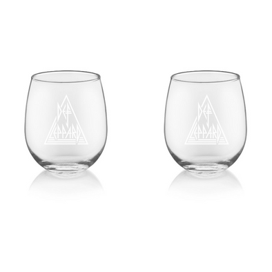 Stemless Wine Glass Set
