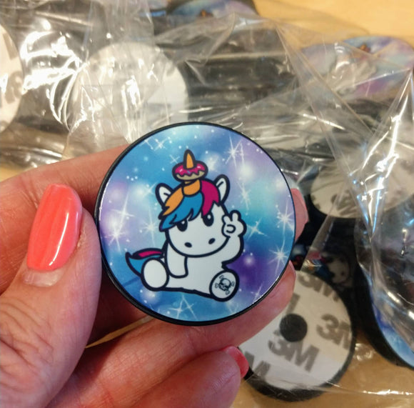 SPRINKLES THE UNICORN POP SOCKETS